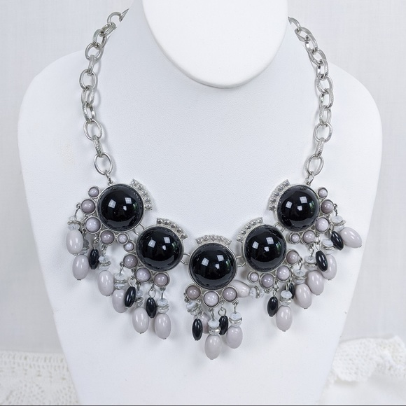 New York & Company Chunky Glam Statement Necklace